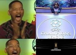 Enlace a Semana de Champions y definición de Libertadores