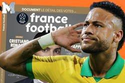 Enlace a France Football explica por qué Neymar no estuvo en la lista de los 30 nominados al Balón de Oro