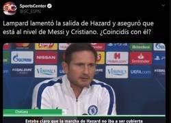 Enlace a Hazard a través de los ojos de Lampard