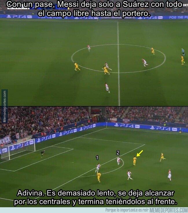 1089197 - El Barcelona está remolcando a Suárez, es un rival más