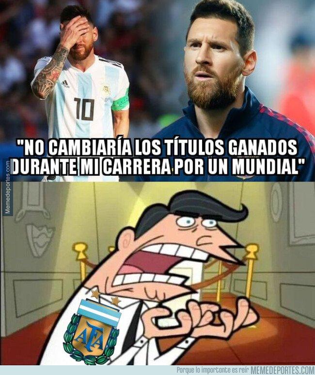 1089362 - A los argentinos no les hará gracia estas declaraciones de Messi