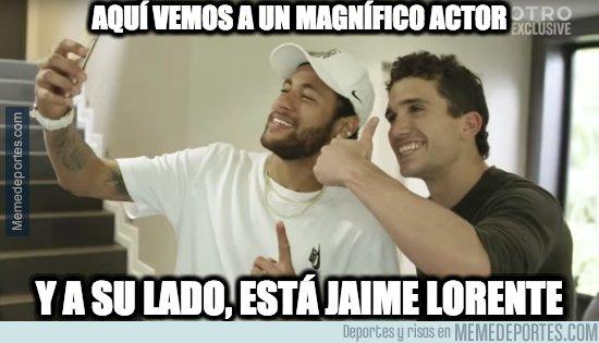 1089469 - La foto de Neymar con Jaime Lorente