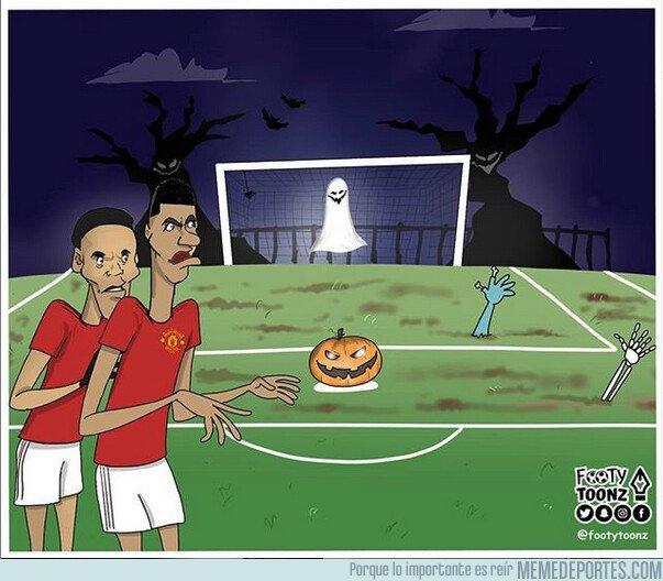 1089482 - Chutar los penaltis en el United es un auténtico terror, por @footytoonz