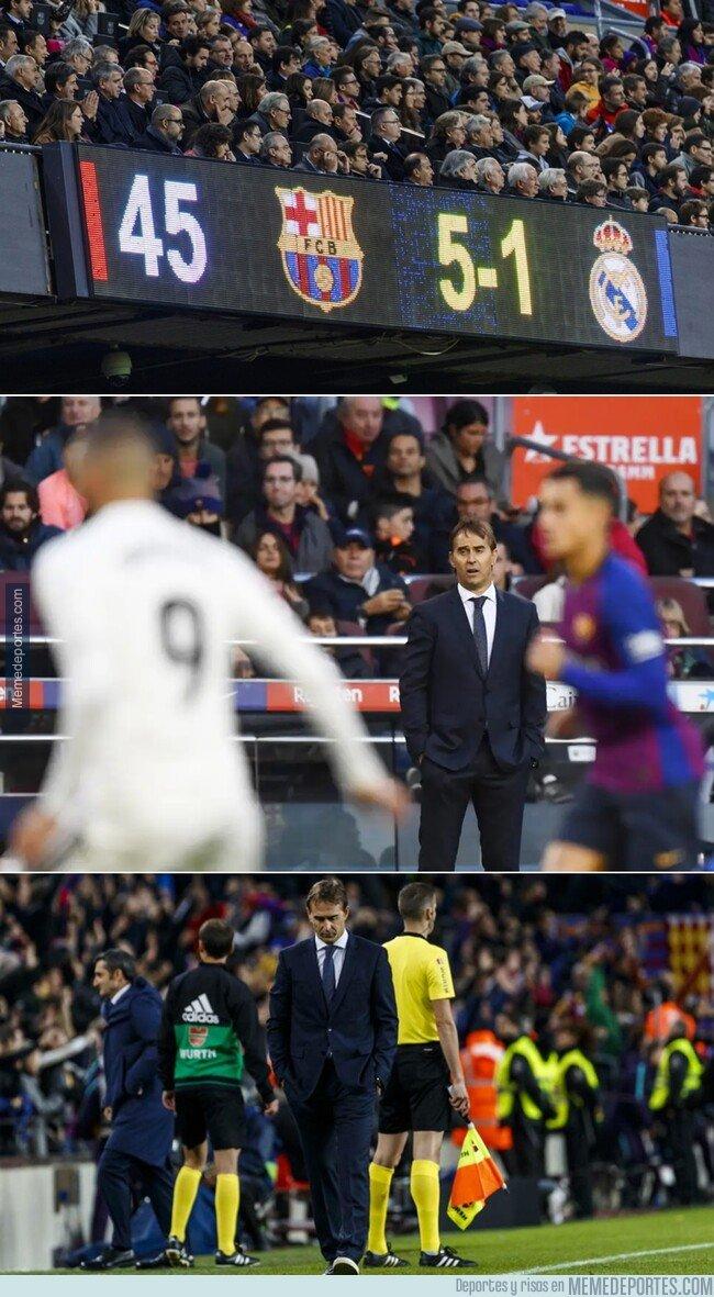1089506 - Hoy hace un año el Barcelona sentenció a Lopetegui quien sería destituido al dia siguiente. Le hicieron un favor, de hecho.