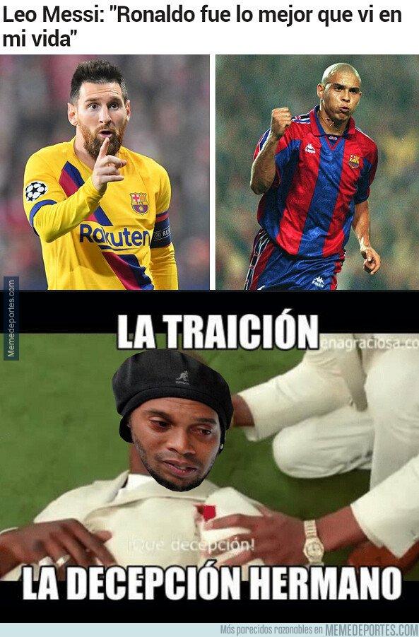 1089546 - Tras las declaraciones de Messi, seguro que alguien se ha sentido muy traicionado y dolido...