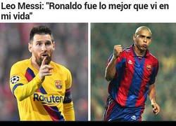 Enlace a Tras las declaraciones de Messi, seguro que alguien se ha sentido muy traicionado y dolido...