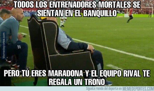 1089623 - Ser un dios, nivel: Maradona