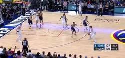 Enlace a La alucinante canasta de Luka Doncic ante los Denver Nuggets en el momento clave para dar la victoria a su equipo
