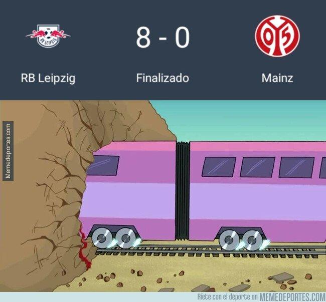 1089912 - La goleada de la jornada se la lleva el Mainz a manos del Leipzig