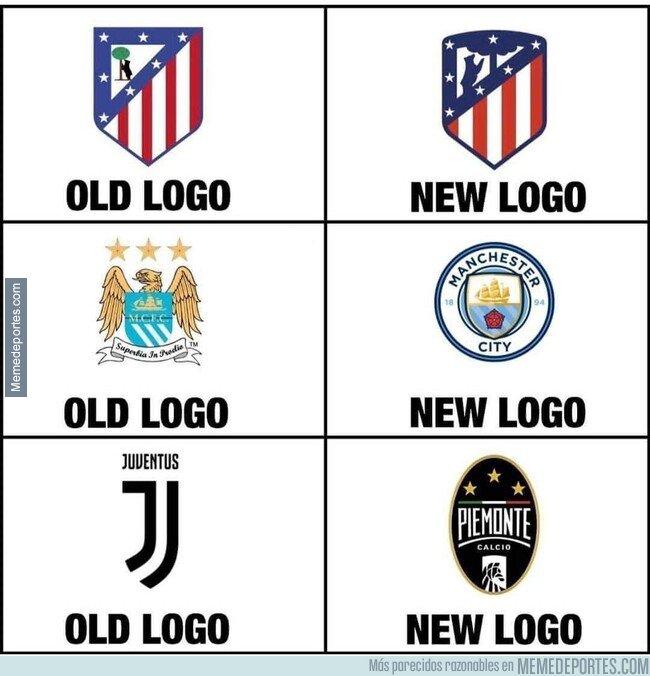 1089915 - El antiguo y nuevo logo
