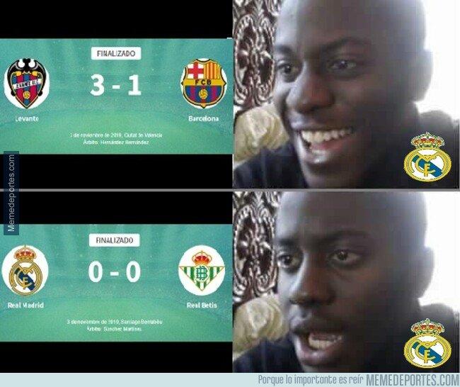 1089916 - Que no se rían los madridistas de la derrota del Barça, que ellos tampoco es que estén muy bien...