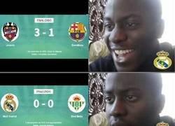 Enlace a Que no se rían los madridistas de la derrota del Barça, que ellos tampoco es que estén muy bien...