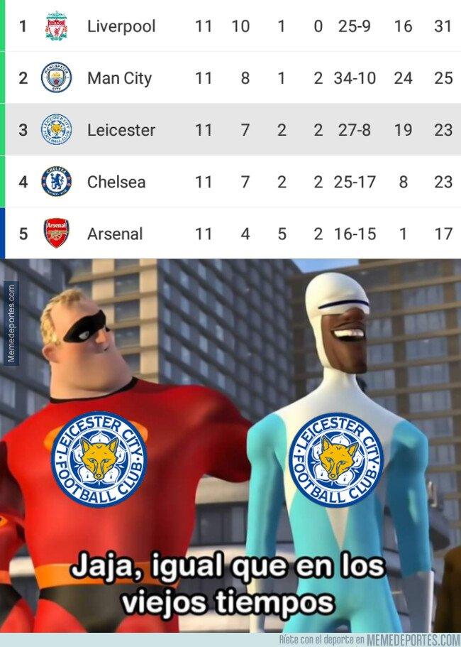 1089995 - El Leicester vuelve a pelear por los puestos de arriba