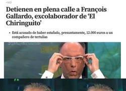 Enlace a Detienen al ex colaborador de El Chiringuito, François Gallardo
