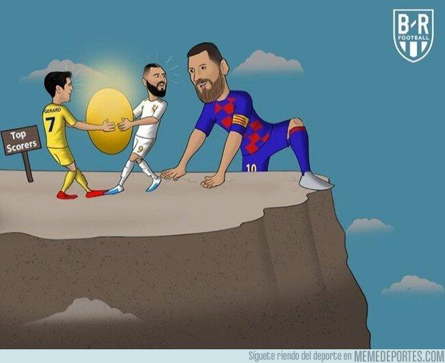 1090751 - Messi ya está en lo más alto de la tabla del pichichi, por @brfootball