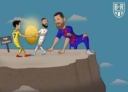 Enlace a Messi ya está en lo más alto de la tabla del pichichi, por @brfootball