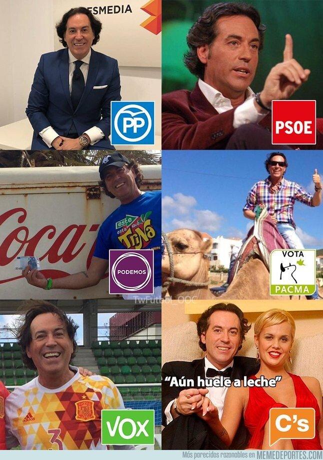 1090763 - Las opciones políticas si fuesen Pipi Estrada