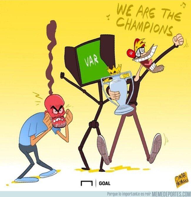 1090856 - El VAR y Klopp tienen desquiciado a Guardiola, por @goalglobal