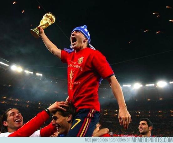 1091078 - Le preguntan a Villa cuál es su mejor gol de los 365 que ha marcado y su elección es uno que todos recuerdan