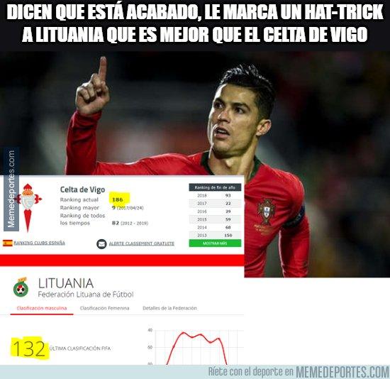 1091124 - Cristiano Ronaldo sigue tapando bocas