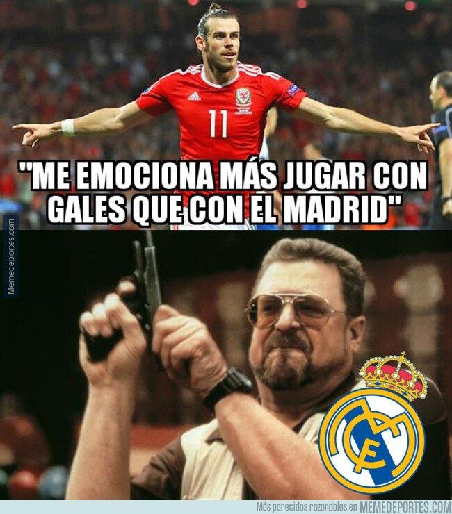 1091166 - Un nuevo desplante de Bale al Madrid