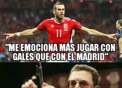 Enlace a Un nuevo desplante de Bale al Madrid