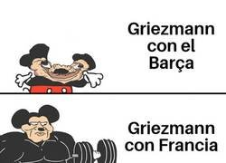 Enlace a Griezmann sí brilla con los 'bleus'