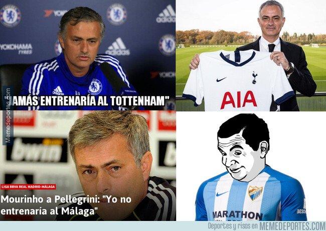 1091609 - Mourinho está a un cuarto de hora de entrenar al Málaga