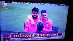 Enlace a En la televisión portuguesa han confundido a Koke (El del Atleti) con el futbolista traficante Koke Contreras
