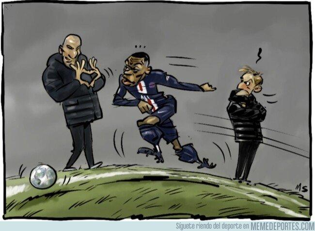 1092036 - A Zidane le hace tilín Mbappé, por @yesnocse
