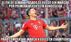 Enlace a Vaya temporadita de Robert Lewandowski