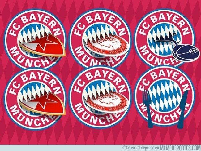 1092125 - El Bayern se ha merendado a todos y cada uno de sus rivales en fase de grupos, por @goalglobal
