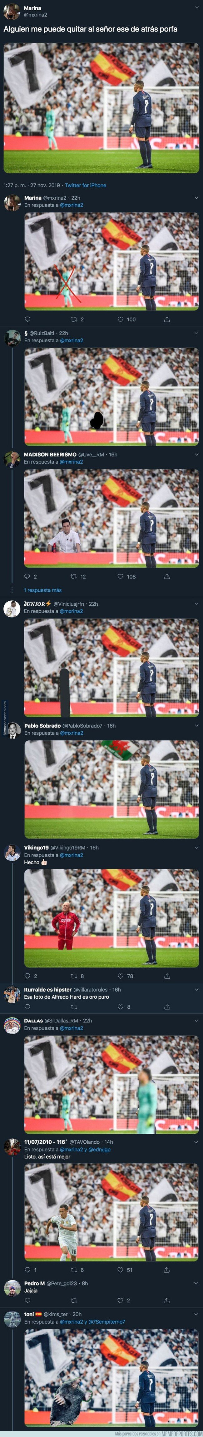 1092195 - Pide en Twitter que eliminen a Keylor Navas en esta foto que sale Mbappé en el Bernabéu e internet hace magia con estas respuestas