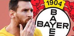 Enlace a El Bayer Leverkusen se ríe de esta publicación tras los goles de Messi a 34 equipos de Europa por este pequeño detalle
