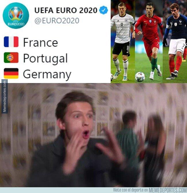 1092364 - ¡¡ESTARÁN EN EL MISMO GRUPO EN LA EURO 2020!!