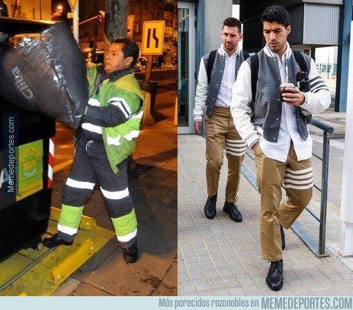 1092424 - Ya sabemos en qué uniforme se han inspirado para hacer la vestimenta de los jugadores del Barça...