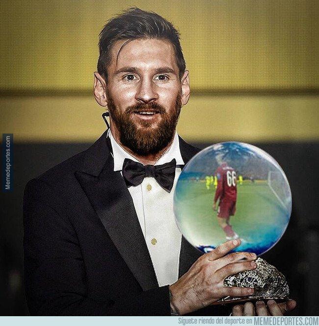 1092527 - Felcitamos a Messi por ganar su Sexto Balón de Oro