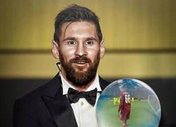 Enlace a Felcitamos a Messi por ganar su Sexto Balón de Oro