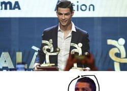 Enlace a Cristiano al menos se llevó los premios a mejor jugador y mejor delantero de la Serie A