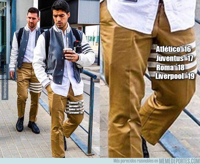1092622 - Lo que oculta las rayas del nuevo uniforme de los jugadores del Barça...