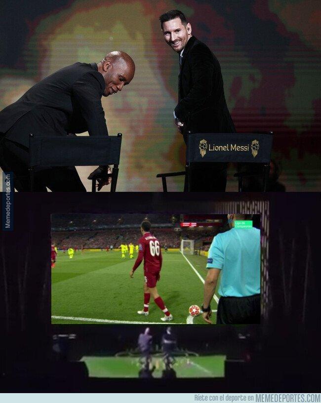 1092635 - ¡Que bonito el vídeo que le pusieron a Messi!