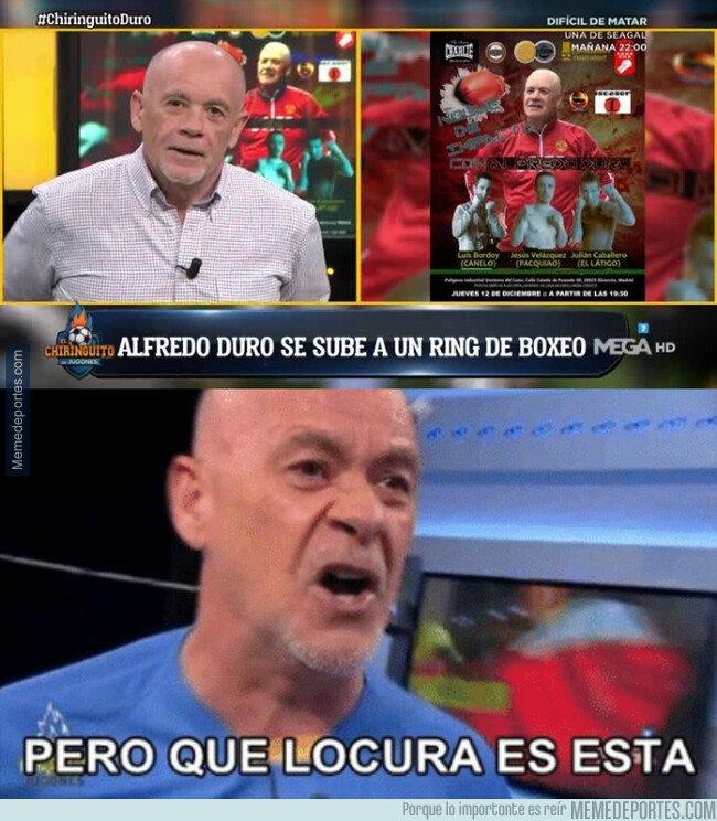 1092726 - Alfredo Duro debutará como boxeador