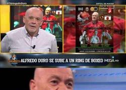 Enlace a Alfredo Duro debutará como boxeador