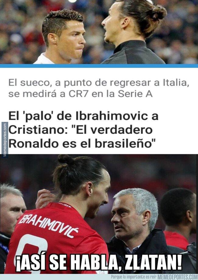 1092752 - Mourinho ya se pronunció sobre el verdadero Ronaldo