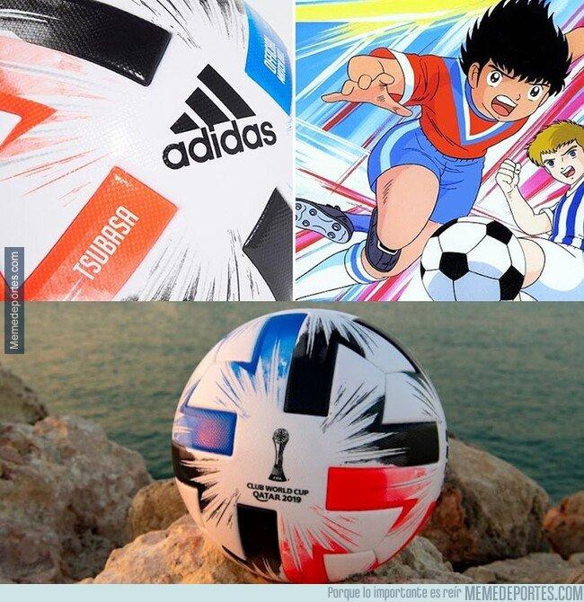 1093252 - Tsubasa. El balón del próximo mundial estará inspirado en Oliver y Benji