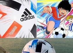 Enlace a Tsubasa. El balón del próximo mundial estará inspirado en Oliver y Benji