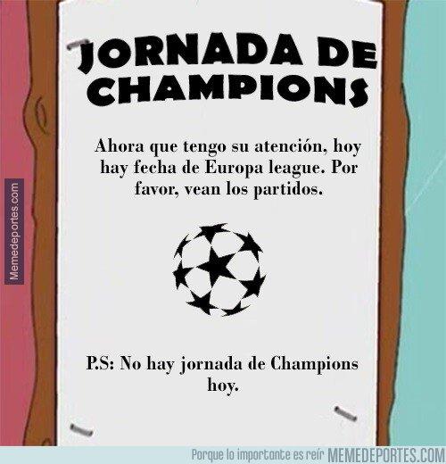 1093302 - ¡JORNADA DE CHAMPIONS!