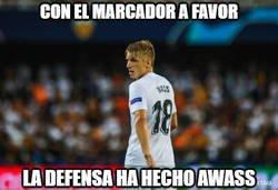 Enlace a La defensa del Valencia no ha acabado bien