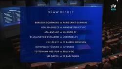 Enlace a Así queda el sorteo de octavos de final de la Champions League