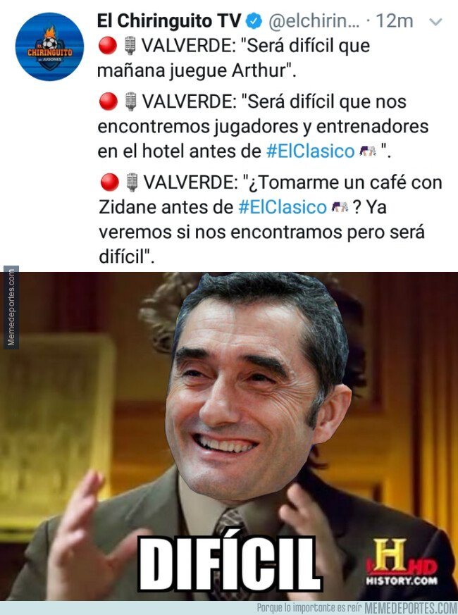 1093822 - Valverde tiene un concepto claro